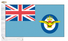 Royal Air Force RAF Sailing Association Courtesy Boat Flags (Roped and Toggled)